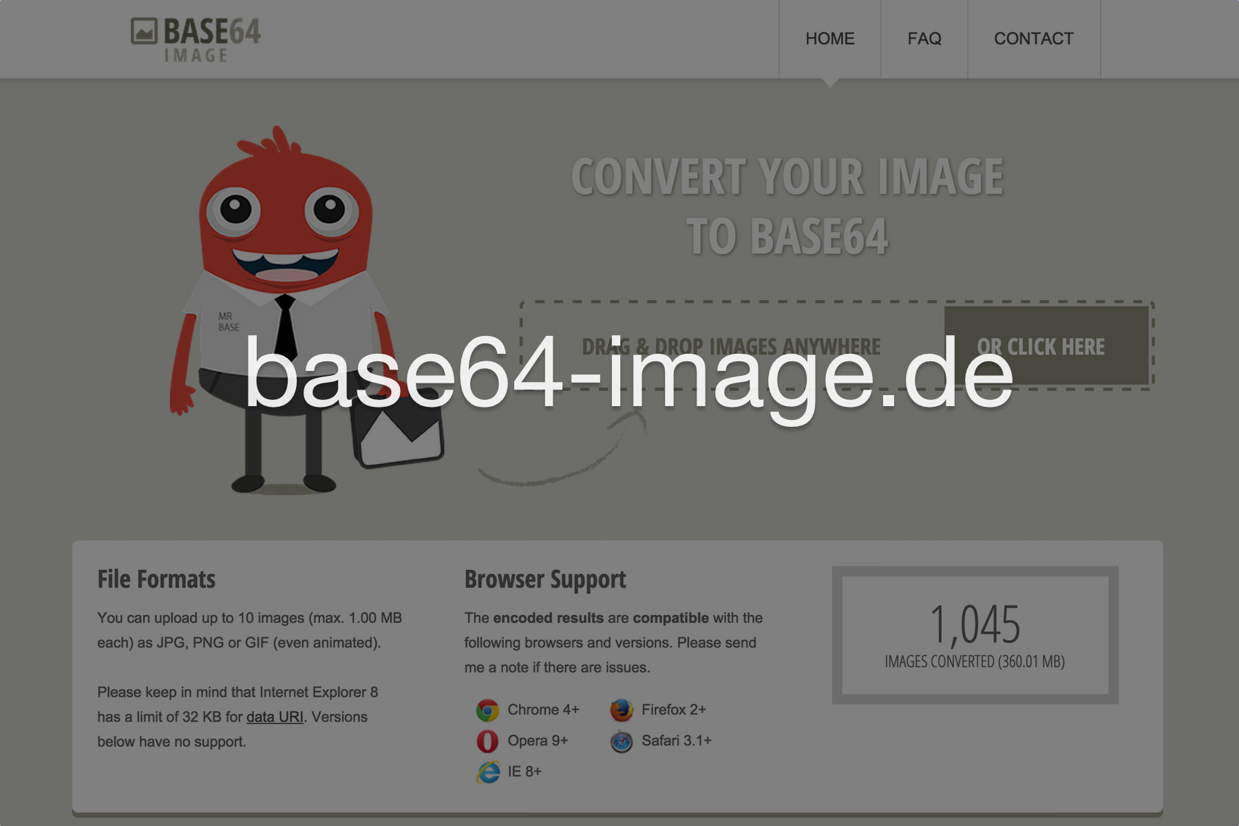 Base64 Image Encoder